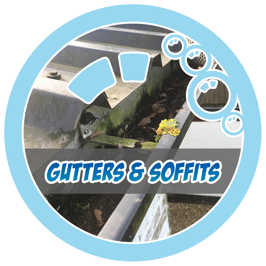 gutter and soffit cleaning